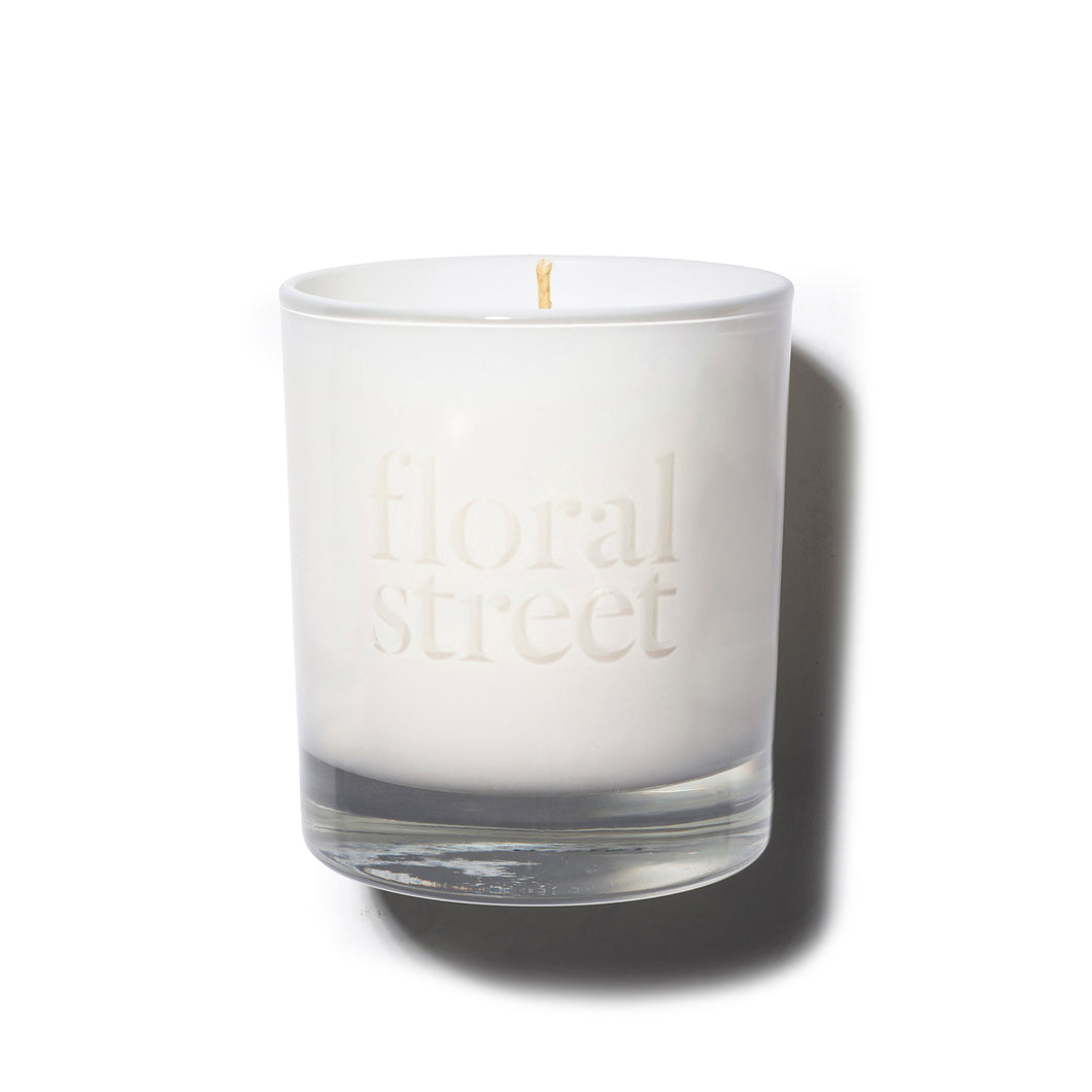 Floral Street White Rose cruelty free and vegan scented candle 200g
