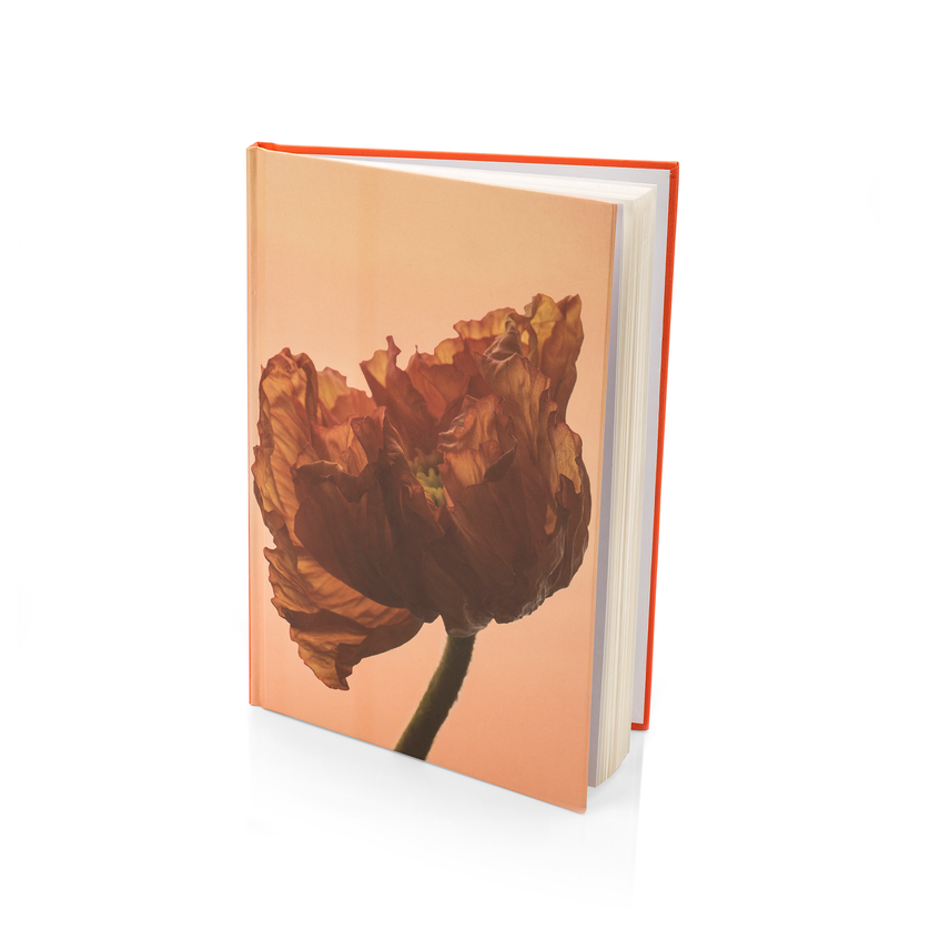 london poppy scented notebook