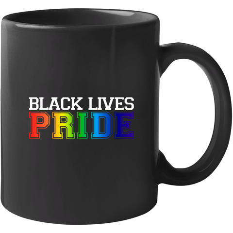 Black Lives This Is Pride Mug