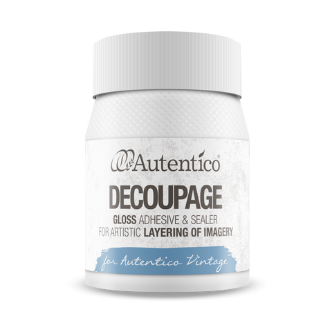 Autentico Decoupage - Jordemors - Autentico Chalk Paint