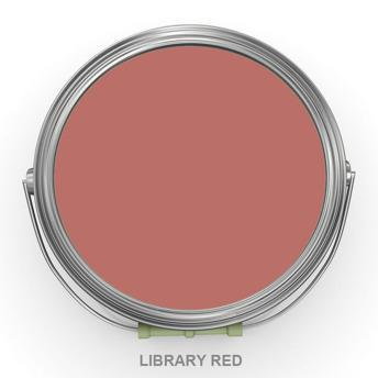 Library Red - Jordemors - Autentico Chalk Paint