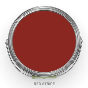 Red Stripe - Jordemors - Autentico Chalk Paint