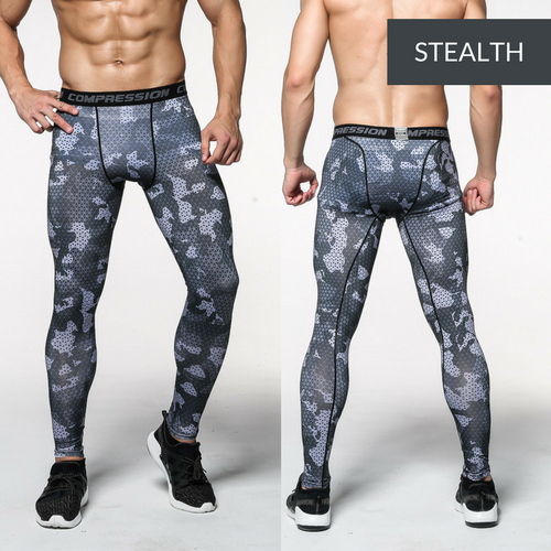 Men's Compression Leggings - Designer's Edition
