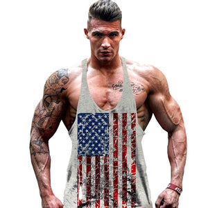 Men's USA Flag Stringer