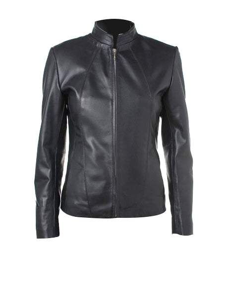 Biker Real Leather Jacket For Women