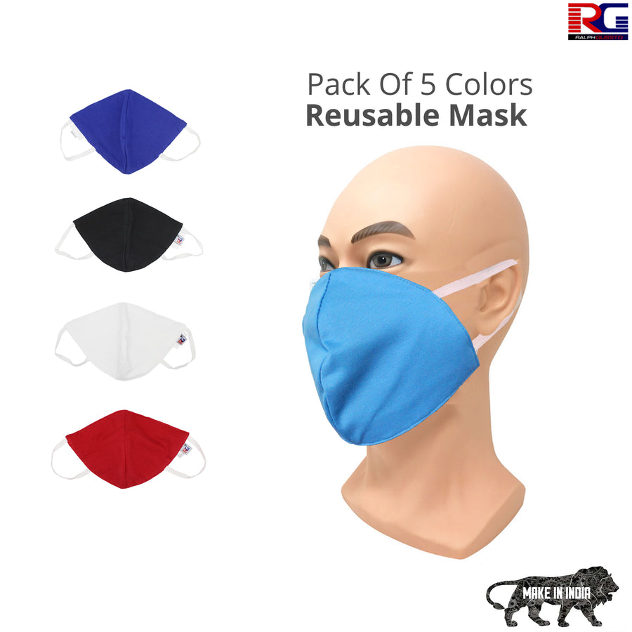 Anti Pollution, Anti- Dust, Reusable | 3 Layer Protection Super Breathable N95 Face Mask