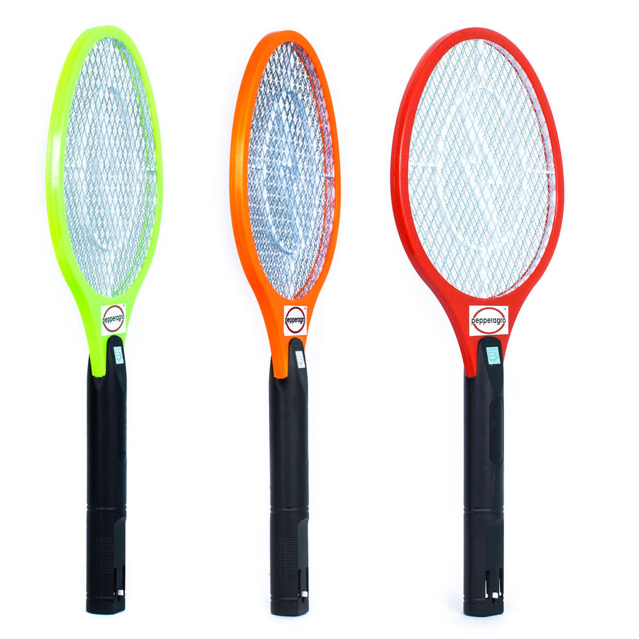 Pepper Agro Rechargeable Mosquito/Flies Bat (colour may vary) - Pepper Agro