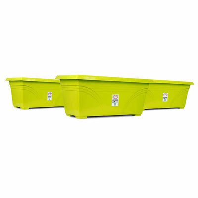 Pepper Agro Flower pot Rectangular Planter 23inch