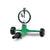 Pepper Agro Garden Watering Stainless Steel Spinner Sprinklers with movable base for lawn and garden Set of 1