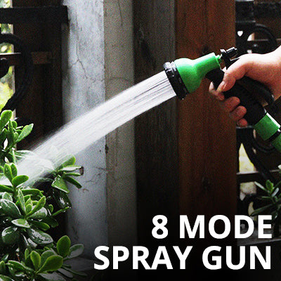 Water Spray Gun Sprayer with 8 Mode/pattern For Graden Watering, Pet Bath, Floor Clean, Car Wash