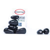 Pepper Agro Pebbles Stones for Decoration / Garden / Table / Aquarium 15 to 25 mm Black Polished Pebble - Pepper Agro