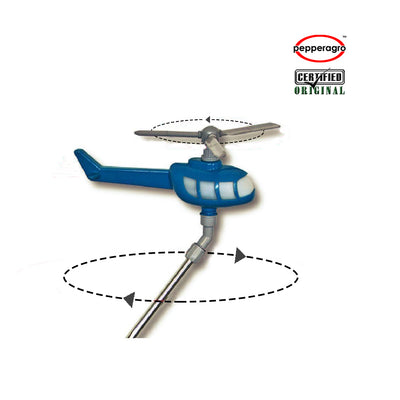 Pepper Agro Rotating Helicopter Sprinkler