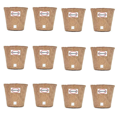 Pepper Agro Coco Fiber Pots Gardening Planter Biodegradable 5inch