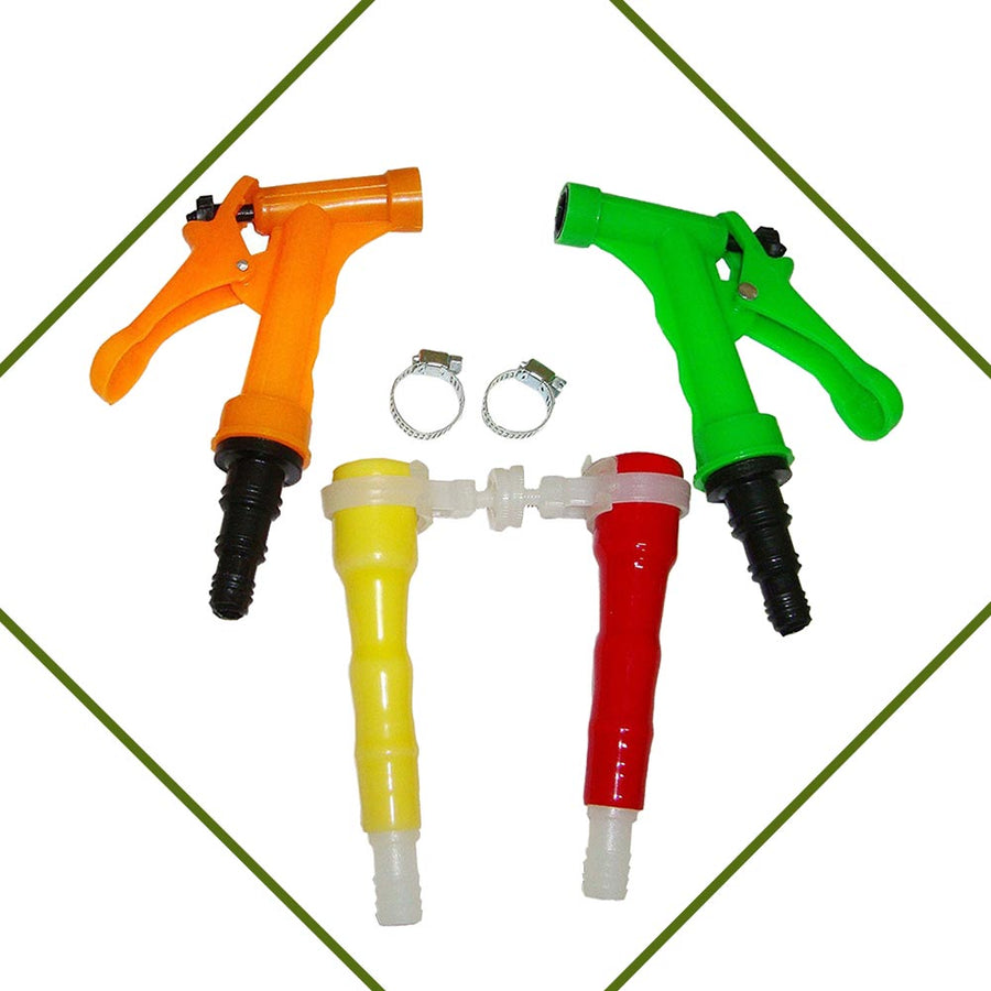 Pepper Agro One Mode Gun Tap Connector Faucet Adapter Kit 6 Pcs