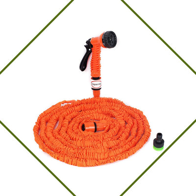 Pepper Agro Magic Strechable Expandable Garden water Hose pipe up to 40 feet