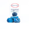 Pepper Agro Pebbles Stones for Decoration / Garden / Table / Aquarium 10 to 15 mm Onyx Blue Pebble - Pepper Agro