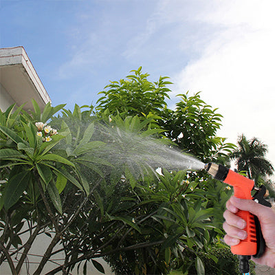 Pepper Agro Garden Car Wash Watering Brass Gun With Braided Hose Pipe