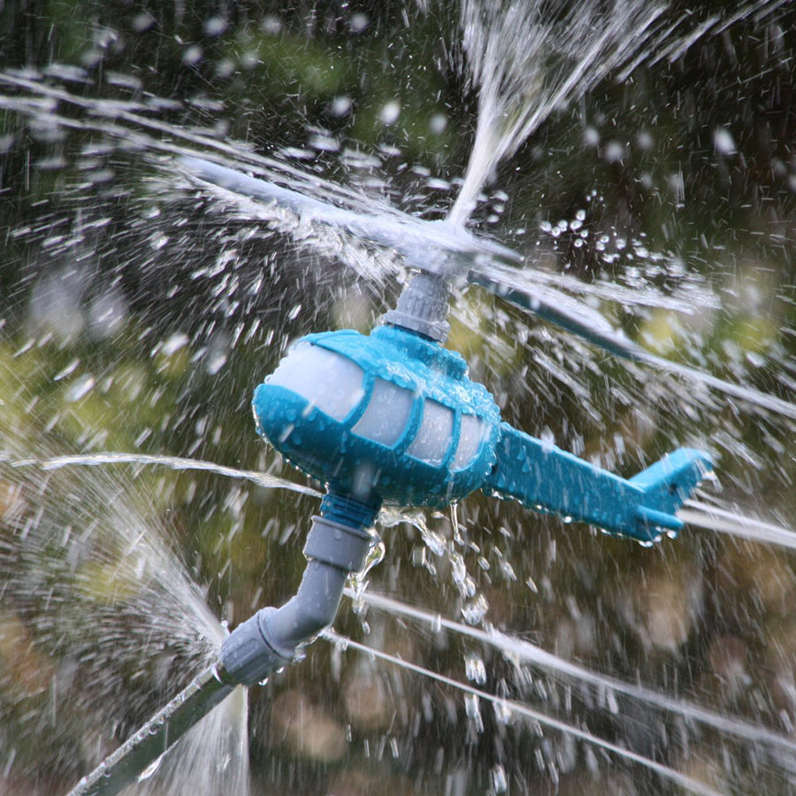 Pepper Agro Rotating Helicopter Sprinkler For Garden, Backyard, Lawn, Grass,  Watering Device and kit.