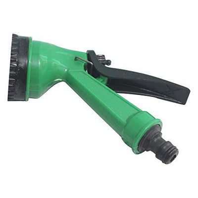 4 Mode Water Spray Gun With Heavy Duty Hose (Color May Vary)