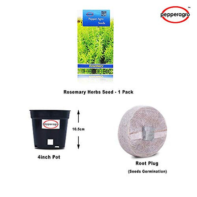 Pepper Agro Rosemary Herbs seeds 2 packs
