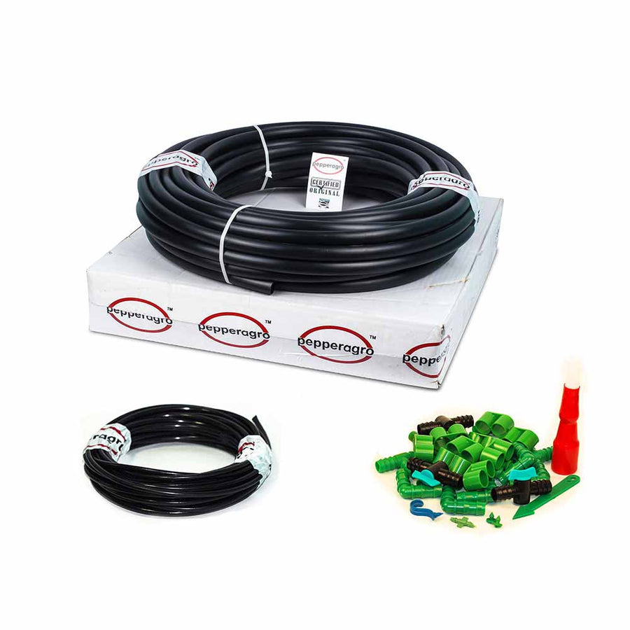 Pepper Agro M Drip Irrigation Kits (Available for 20, 50, 100, 150 & 200 plants)