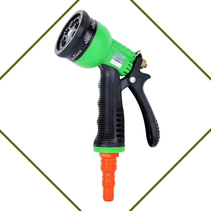 Pepper Agro GHG1029 Water Spray Gun Sprayer with Eight Mode Pet Bath Floor Clean