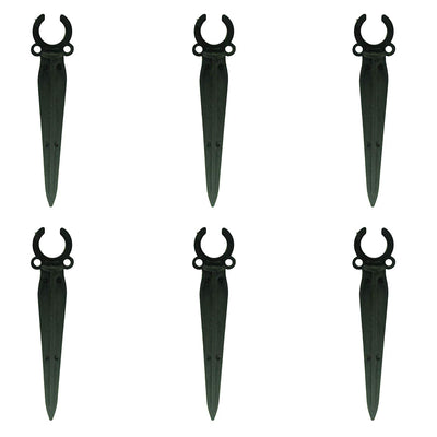 Pepper Agro Drip Irrigation Plant Stakes for 16mm Drip Pipe Set of 6