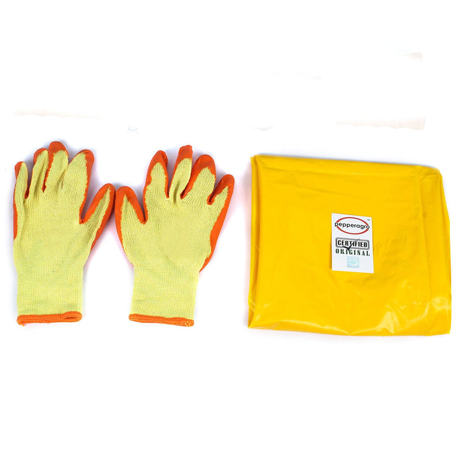 Pepper Agro Gardening Tools Combo Garden Gloves & Apron Free Size