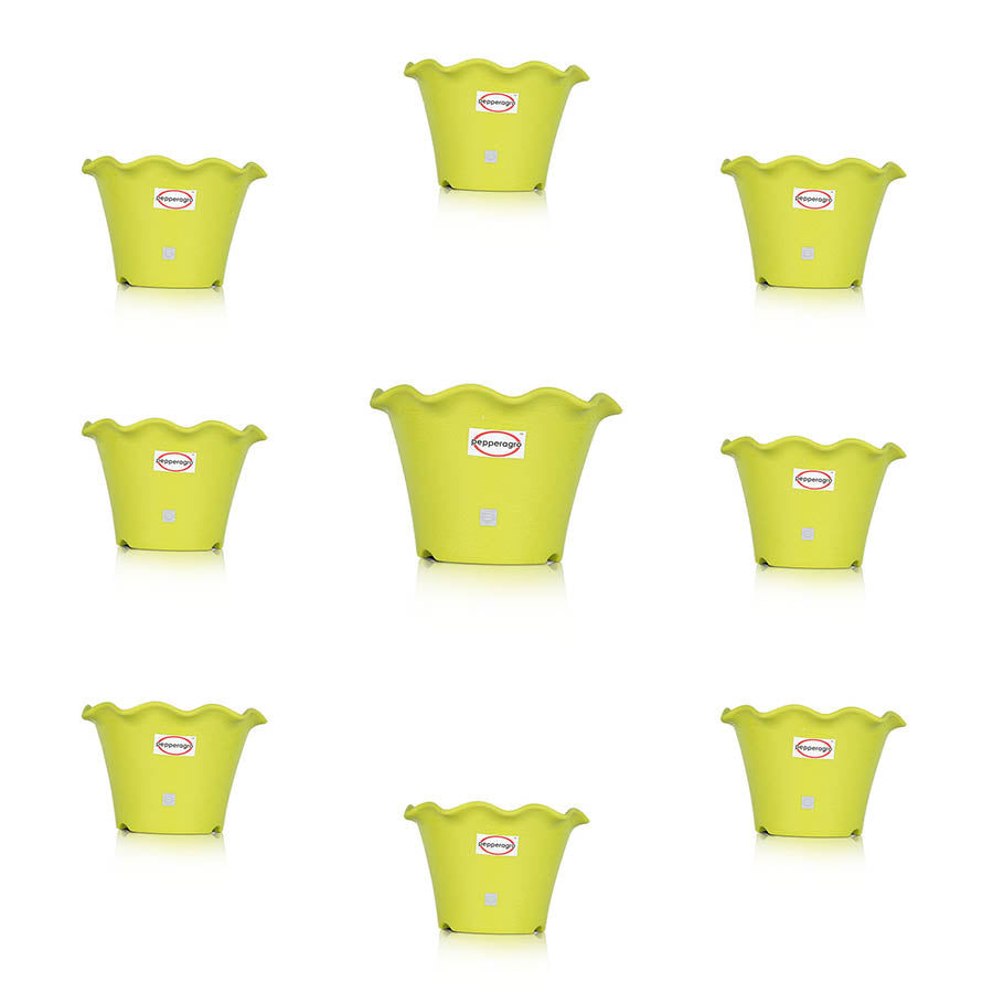 Pepper Agro Flower Pots Blossom Planters 10inch