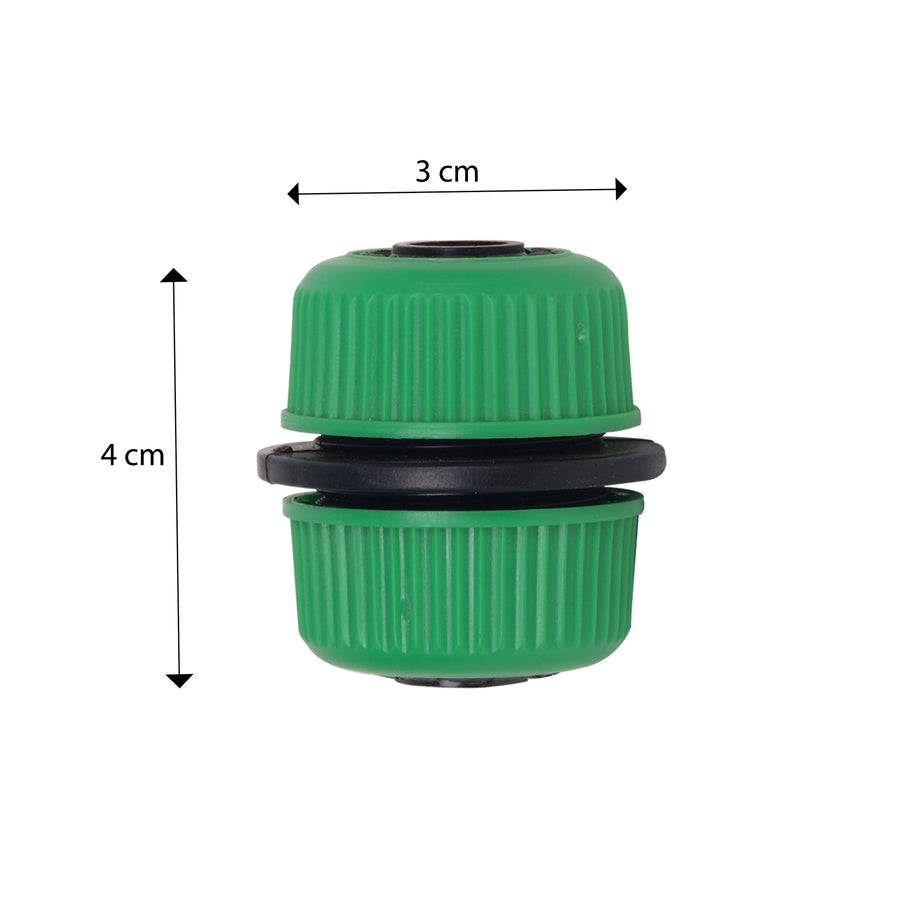 Pepper Agro Garden Watering Quick Connector for 1/2 inch Hose Pipe Adapter Set of 2