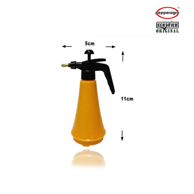Pepper Agro 1 Liter Hand Compression Sprayer / Garden Pressure Sprayer (Yellow , Black) - Piece of One