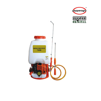 Pepper Agro 20 Liters- Knapsack Power Sprayer / 2 Stroke Fuel Engine