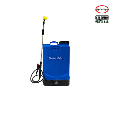 Pepper Agro Knapsack Delux 16 Liters Battery Operated Sprayer, electric Sprayer For agriculture