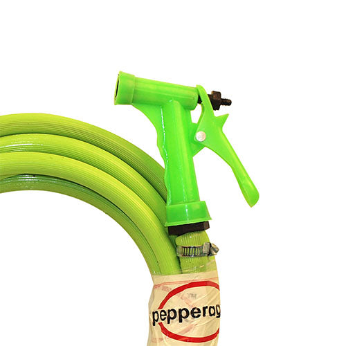 Pepper Agro Car Wash Gardening Water Spray Gun One Pattern 5 Meters Car Wash Gardening Water Spray Gun One Pattern 5 Meters Hose Pipe