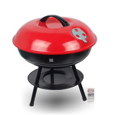 Pepper Agro Portable & Picnic Terrace Garden Barbeque Red & Black Set of 1