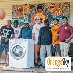 Orange Sky volunteers at Lockhart River