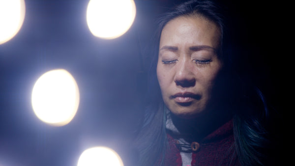 Mona Leung in Beyond Vanity, a unique feature film about bringing mindful, holistic practices into the beauty industry