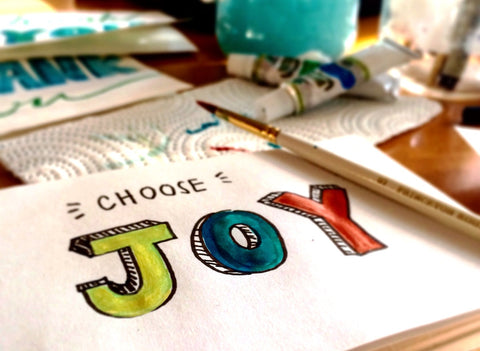 Choosing joy for wellbeing