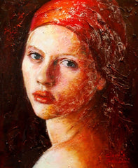 Inspired Arts articles - Patty's Gallery, art from Italy: 'Luce' by Claudia Salvadori