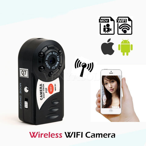 Discreet Video AND Audio Recording With This WiFi P2P Mini Camera