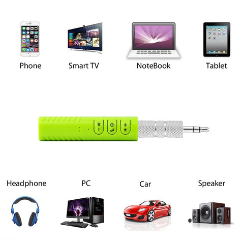 Image of Universal TOP QUALITY Wireless Bluetooth Receiver Kit For Easy Hands Free Listening Anywhere