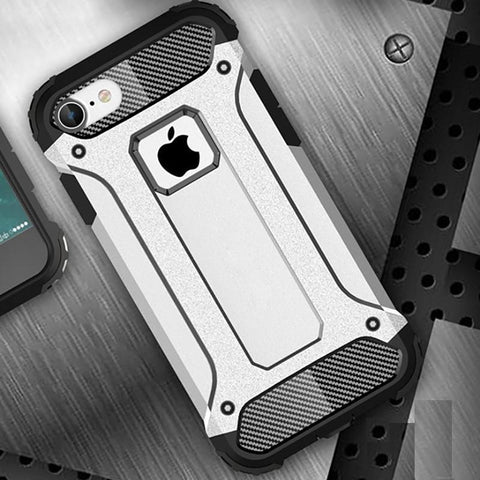 Image of Shockproof Double Layer Armor Case For The Toughest Conditions For iPhone X, 8, 7, 6, and 6, 7, 8 PLUS