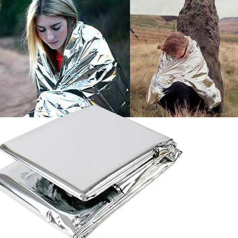 Image of Emergency Thermal and Waterproof Survival Blanket