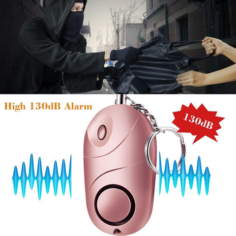 Image of Super Loud 130 Decibel Personal Panic Alarm For Your Safety, Self Defense and Emergency [3 Pack Set]