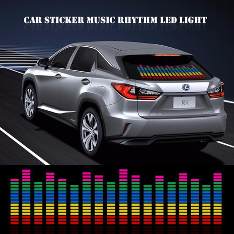 Sound Acivated LED Rhythm Equalizer Light Display