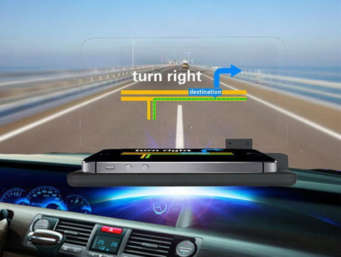 Image of Feels Like Driving In the Future... Amazing Heads Up Driving Technology Works With Any Phone & Any Car