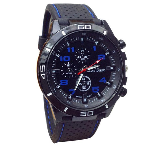 Our Most Popular Tactical/Sports Quartz Watch.  Select From FIVE Colors & Get Yours Now!