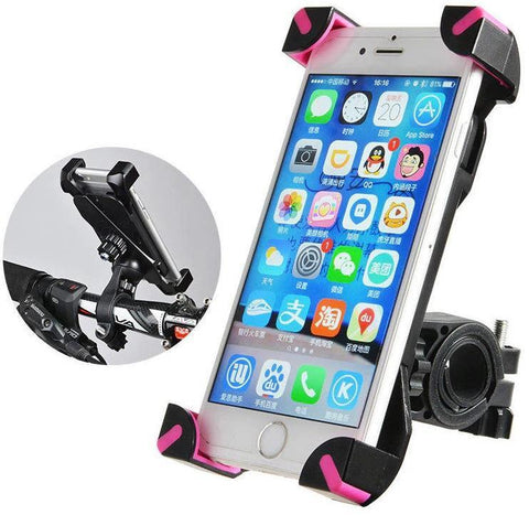 Image of Pro Cellphone Mount For Mountain & Road Bikes FITS Samsung Galaxy 9, 8, 7, 6, + You Get FREE Shipping Today!