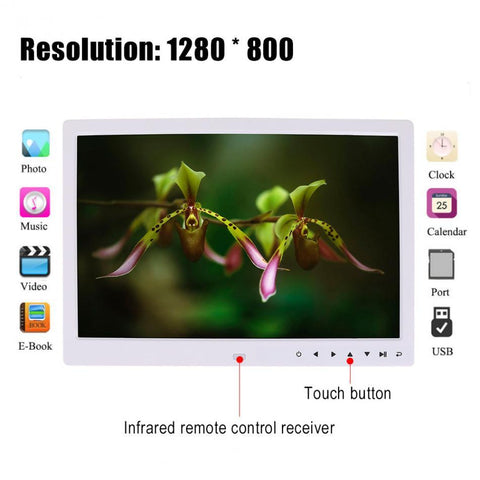 "Image of Huge 15"" LED Digital Photo Frame with Multi-function Touch Screen So You Get Amazing Resolution"
