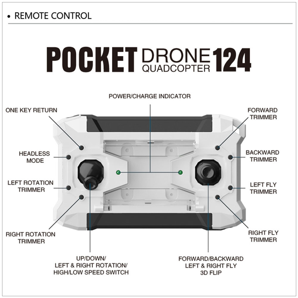 Get Our AK124 Micro Pocket Drone Quadcopter PLUS FREE SHIPPING When You ADD This To Your Cart Right Now! Get yours now before it's gone!